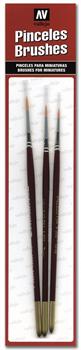 Купите набор кистей Toray Detail Set (0, 1 & 2) в интернет-магазине «Лавка Орка». Доставка по РФ от 3 дней.