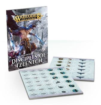 WARSCROLLS: DISCIPLES OF TZEENTCH ENG