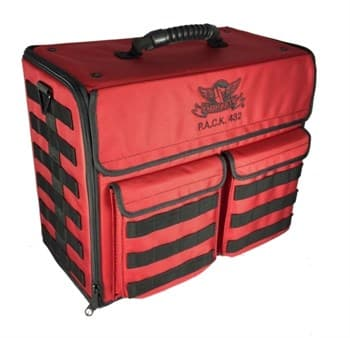P.A.C.K 432 MOLLE VERTICAL STANDARD LOAD OUT (RED)