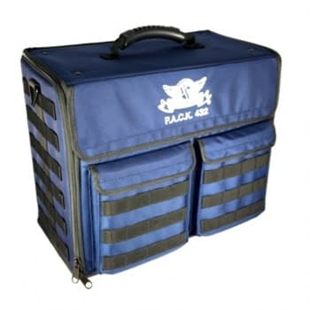 P.A.C.K 432 Molle Horizontal Standard Load Out (Blue)