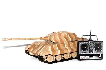 Радиоуправляемый танк Heng Long German King Tiger 1 Henschel масштаб 1:16 27Mhz