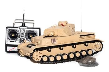 Радиоуправляемый танк Heng Long DAK Panzerkampfwagen IV Ausf F-1 масштаб 1:16 40Mhz