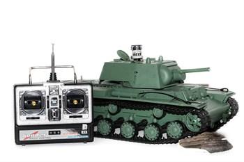 Радиоуправляемый танк Heng Long Russia КВ-1 масштаб 1:16 2.4G