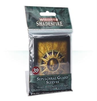 WARHAMMER UNDERWORLDS: SHADESPIRE – SEPULCHRAL GUARD SLEEVES