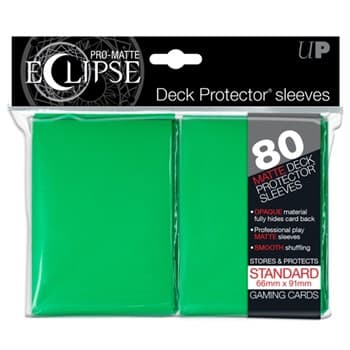 Ultra Pro - Зеленые матовые протекторы PRO-Matte Eclipse 80 штук