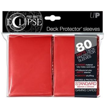 Ultra Pro - Красные матовые протекторы PRO-Matte Eclipse 80 штук