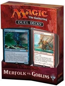 Duel Decks: Merfolk vs. Goblins / Дуэльный набор: Мерфолки против Гоблинов