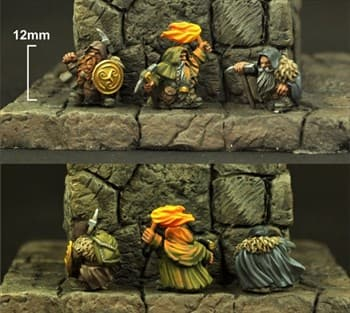 15MM DWARVES MINERS (3)