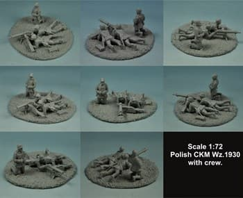 1:72 POLISHCKM WZ 1930 WITH CREW SET #1