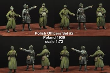 1:72 POLISH OFFICERS 1939 SET #2 (3)