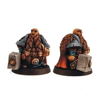 DWARF WITH PIPE