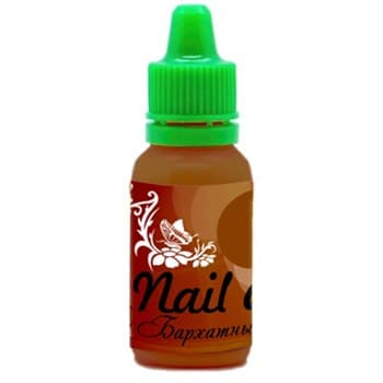 Краска для ногтей Nail Art — Бархатный коричневый 15мл