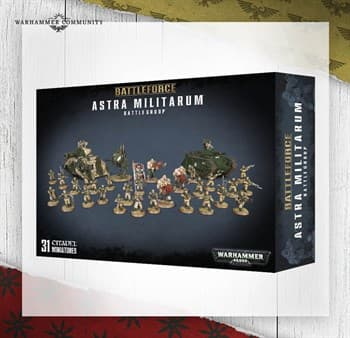 BATTLEFORCE:ASTRA MILITARUM BATTLE GROUP