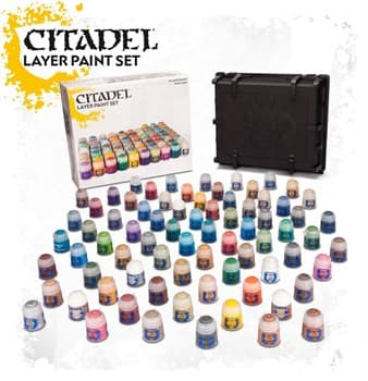 CITADEL LAYER PAINT SET (2017)