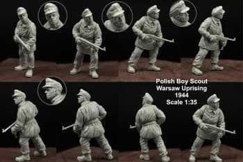 1:35 POLISH BOY SCOUT #3