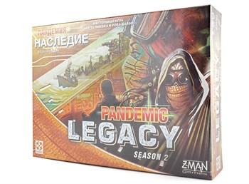 """Настольная игра """"Пандемия: Наследие 2 (жёлтая коробка) (PANDEMIC LEGACI Yellow)"""""""
