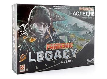 """Настольная игра """"Пандемия: Наследие 2 (черная коробка) (PANDEMIC LEGACI Black)"""""""