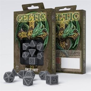 Набор кубиков «Celtic dice» серый