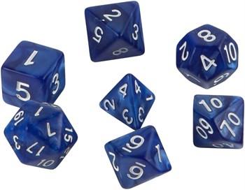 Набор кубиков Role Playing Set — Blizzard Blue 7 шт, 16 мм