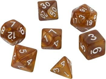 Набор кубиков Role Playing Set — Dwarven Gold 7 шт, 16 мм