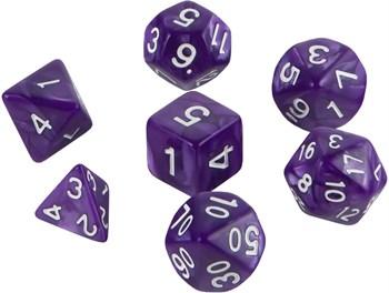 Набор кубиков Role Playing Set — Purple Strike 7 шт, 16 мм