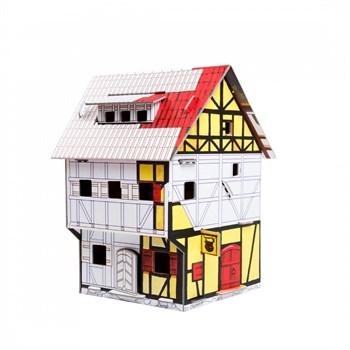 """Сборный домик-раскраска из картона """"Таверна""""."""