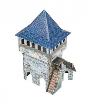 """Игровой набор из картона . """"Верхняя башня"""""""