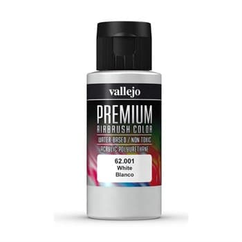 Premium Airbrush White 60 ml.