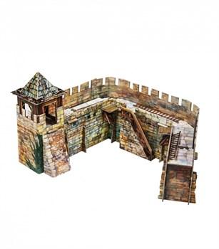"""Игровой набор из картона . """"Крепостная стена"""""""
