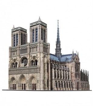 Нотр-Дам де Пари (Notre Dame de Paris),  Сборная модель из картона, масштаб 1/200