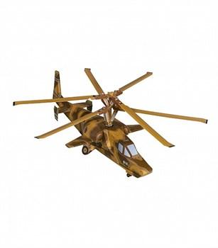 """Сборная игрушка из картона. Серия: Стандарт. Вертолет """"Черная Акула"""""""