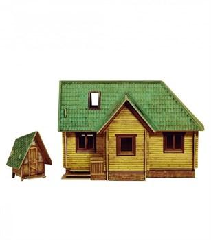 """""""Дачный домик"""". Сборная модель из картона. Масштаб 1/87"""