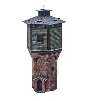 """""""Водонапорная башня"""". Сборная модель из картона. Масштаб 1/87"""