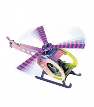 """Сборная игрушка из картона """"Вертолетик"""""""