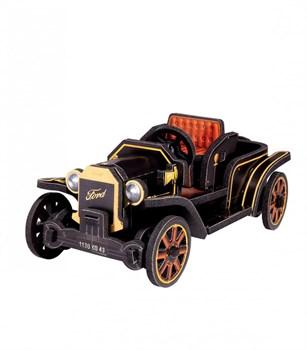 """Объемный пазл. Сборная игрушка """" Ford T"""". Материал: картон + изолон. Формат: mini"""