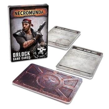Necromunda: Orlock Gang Cards (English)