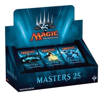 """Дисплей выпуска """"Masters 25"""" на английском языке (eng)"""