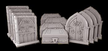 Клинок и колдовство. Sword & Sorcery - Набор дверей и сундуков