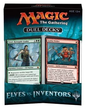 MTG: DD Elves vs Inventors EN