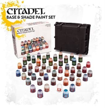CITADEL BASE AND SHADE PAINT SET (2017)