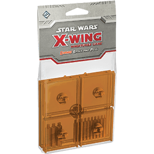 Star Wars: X-Wing - Orange Bases & Pegs