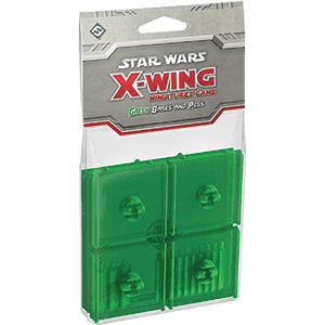Star Wars: X-Wing - Green Bases & Pegs