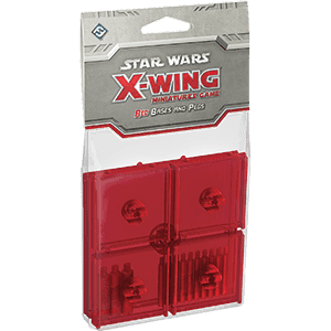 Star Wars: X-Wing - Red Bases & Pegs