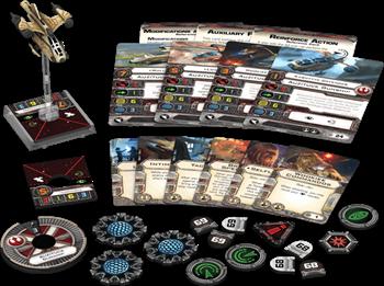 Star Wars: X-WIng - Auzituck Gunship