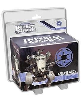 Star Wars Imperial Assault: General Weiss Villain Pack
