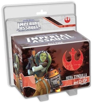 Star Wars Imperial Assault:: Hera Syndulla and C1-10P Ally Pack