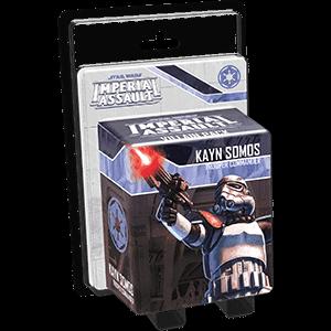 Star Wars Imperial Assault:: Kayn Somos Villain Pack