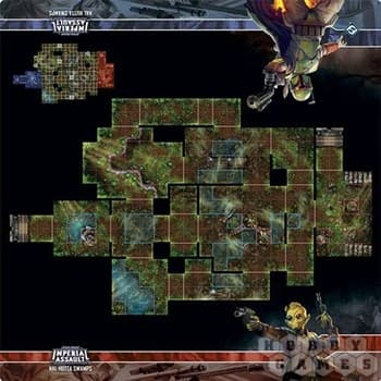 Star Wars Imperial Assault:: Nal Hutta Swamps Map