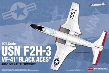 "Самолет  USN F2H-3 VF-41 ""Black Aces""  (1:72)"