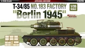Танк T-34/85  Завода №183, Берлин 1945  (1:35)